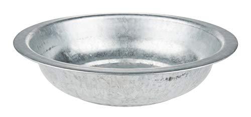 Othmar Metall Schale, zinkoptik Ø 35,5 cm
