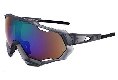 e Vintage Arbeitsbrille Sonnenbrille Anti Glanz Nachtfahrbrille Grau Grün ()