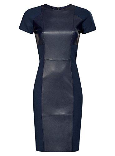 oodji-collection-mujer-vestido-combinado-con-piel-sintetica-azul-es-38-s
