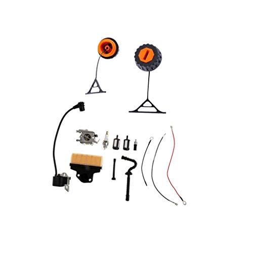 Tubayia Kettensäge Rasenmäher Gas Treibstoffkappe + Vergaser Teile für Stihl 020 021 023 024 025 026 028 034 036 038 048
