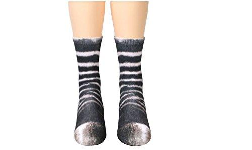 dressfan Niedliche Tier Socken Unisex Erwachsene Kinder 3D-Druck -