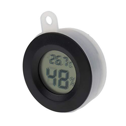 Sharplace Digital Thermo- / Hygrometer für Terrarium, zufällige Farbe