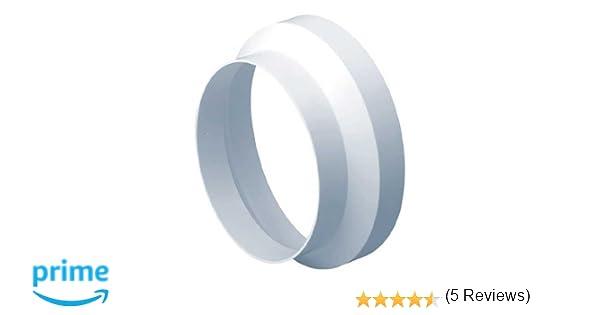 Adaptateur de robinet circulaire 150 mm /à 100 mm r/éducteur de conduit
