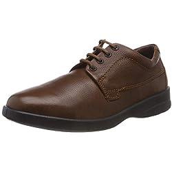 Padders Lunar, Zapatos de Cordones Derby para Hombre, (Dark Tan 89), 46 EU