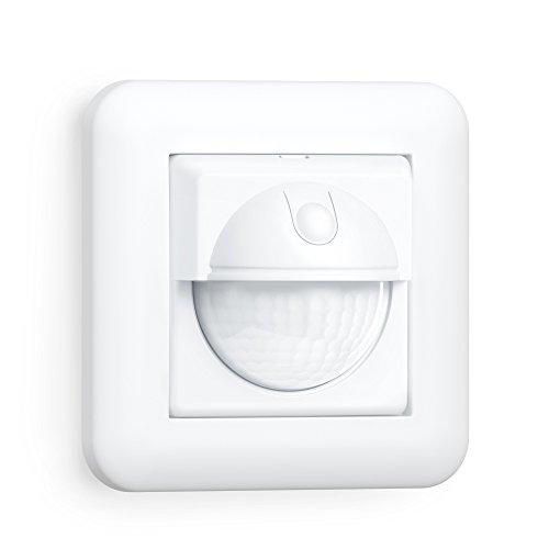 Steinel Bewegungsmelder IR 180 UP easy, Unterputz Wandschalter, 180° Sensorschalter, LED geeignet, 2- und 3-Draht Montage
