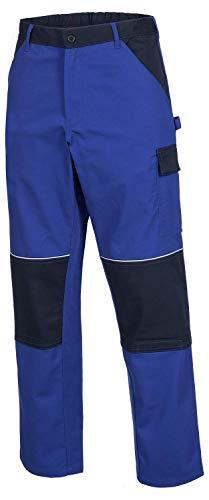 ACE+ Pantaloni da Lavoro Motion Tex - Pantalone Comodo & Resistente - Standard Öko-Tex, Leggeri - 245 g/m² - Blu