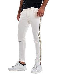 Amazon.it: Pantaloni Bianchi Di Cotone Giosal Pantaloni