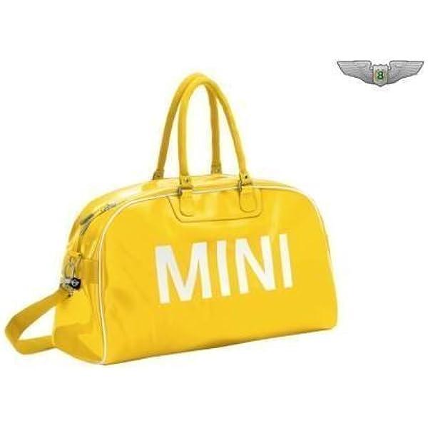 Bmw Mini Retro Gelb Reisetasche Sports Duffle 8022287995 Auto