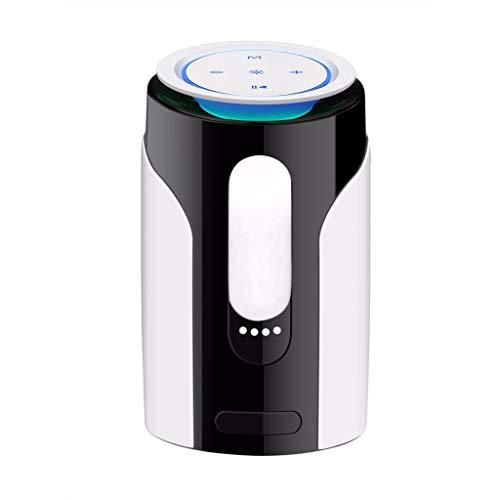 LRWEY Mini Tragbarer Bluetooth-Lautsprecher, LED-Licht Wireless, tragbarer Subwoofer, Kleiner Lautsprecher für iPhone, iPad, Xiaomi, Huawei, Laptop
