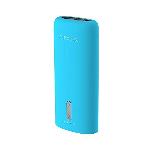 Puridea-Ultra-Compact-4000mAh-Caricabatterie-Portatile-Universale-USB-Batteria-Esterna-per-smartphone-Samsung-Galaxy-iPad-iPhone-Asus-MeMo-Pad-Sony-Tablet-PC-1-blu-
