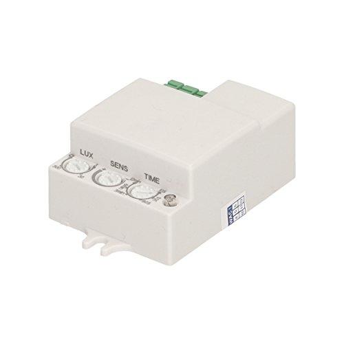 Preisvergleich Produktbild ORNO Flacher Mikrowellen-Bewegungsmelder Mini, IP20 A, 1 Stück, Weiss, OR-CR-214
