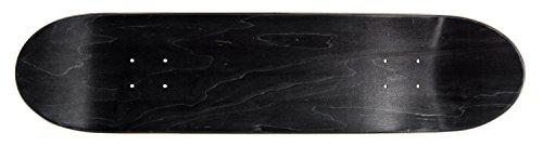 Ridge Skateboards Ridge Concave Deck- Black Design 32x 8 Skateboard, Schwarz, 328 Inch -