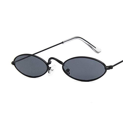 ACKCC Kleine Rahmen Ozean objektiv SonnenbrilleSpiegel ovale Brille für männer Legierung