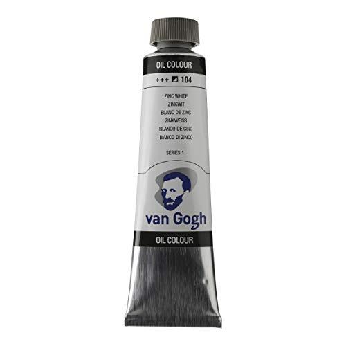 40ml-Van Gogh Ölfarbe-Zink Weiß-Serie 1 -