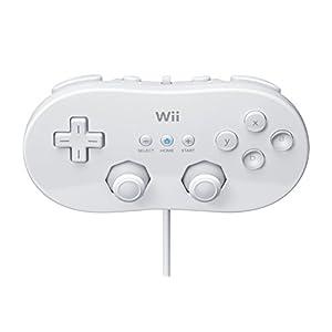 Wii – Classic Controller, weiß