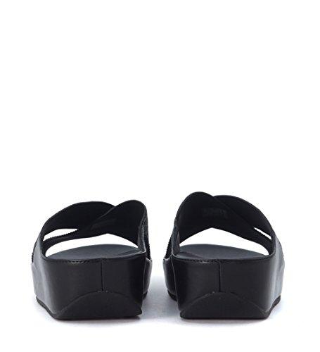 Sandal FitFlop Crystall noir avec strass Noir