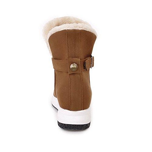 AN ANDku01685 - Stivali da neve donna Brown