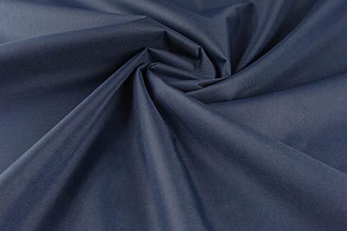 PINSOLA Wasserdichter Stoff Meterware Outdoor Stoff Segeltuch PVC Polyester Gewebe Winddicht Wasserabweisend Premium Langlebig Reißfest Fester Planenstoff Outdoorstoff Textilien