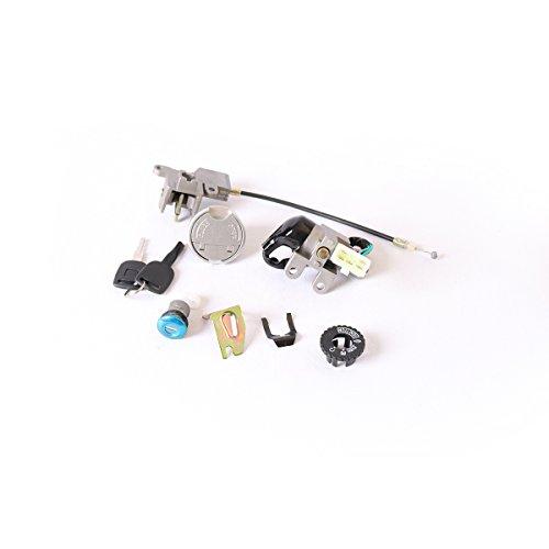 RMAN - Zündschloss Schlüsselschalterschloss Set für 4 Takt Roller Baotian Zhongshen Sachs Rex 50