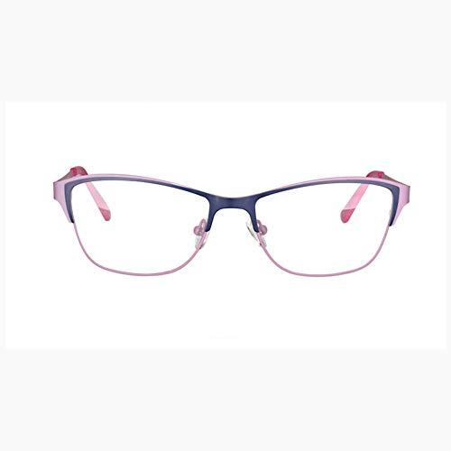 Z&HA Lesebrille für Katzenauge, verfärbte Anti-UV-Sonnenbrille, geeignet für ältere Menschen, um die Zeitungsbrille für Mobiltelefone zu sehen,01,+350