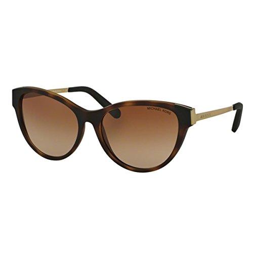 Michael Kors Damen PUNTE Arenas MK6014 Sonnenbrille, braun verlauf 302113), Medium (Herstellergröße: 57)