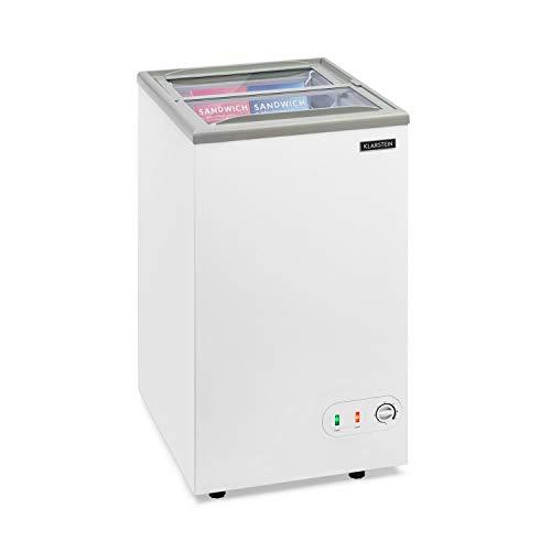 KLARSTEIN Pro Eispalast - Congelador tapa corrediza