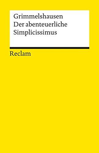Preisvergleich Produktbild Der abenteuerliche Simplicissimus Teutsch (Reclams Universal-Bibliothek)