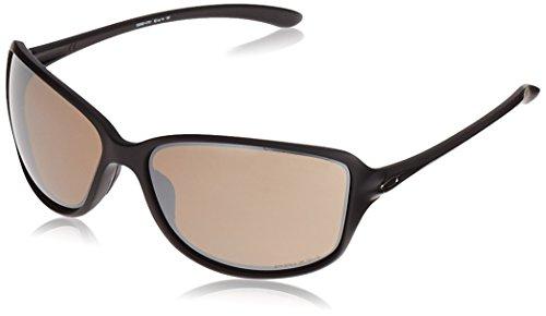 Oakley Damen Cohort 930107 61 Sonnenbrille, Schwarz (Matte Black/Prizmtungstenpolarized)