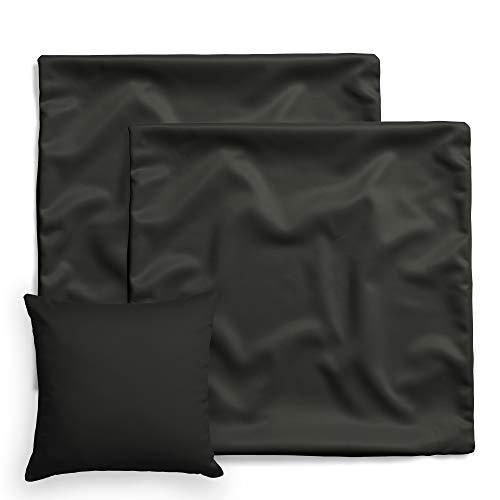 Amato Home - Pack 2 fundas cojín / almohada cuadrada