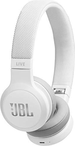 JBL LIVE 400BT - Casque audio supra-auriculaire sans fil - Écouteurs Bluetooth avec commande pour appels - avec Amazon Alexa intégré - Autonomie jusqu'à 24 heures - Rouge