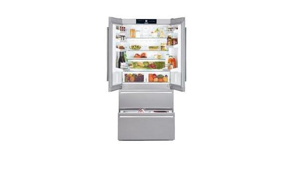Amerikanischer Kühlschrank Liebherr : Liebherr cnes 6256 u2013 kühlschrank amerikanischen autonome silber a