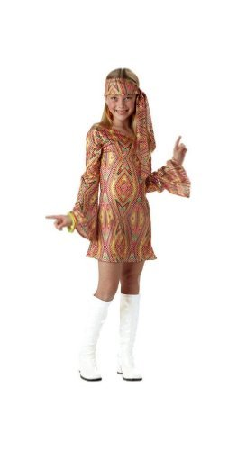 Disco Dolly Costume - Child Costume - Large (10-12) by California - Disco Dolly Kostüm
