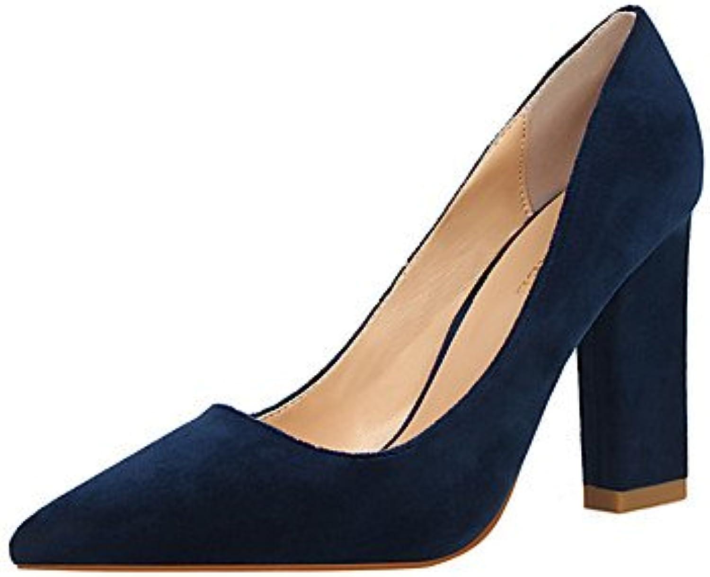 Tacones Mujer Primavera Verano Zapatos Club Comfort Fleece Oficina &Amp; Carrera Parte &Amp; Traje de Noche Chunky...