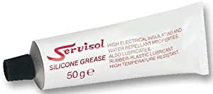 SILICONE GREASE 50G TUBE, SERVISOL 200002000 50GM By SERVISOL