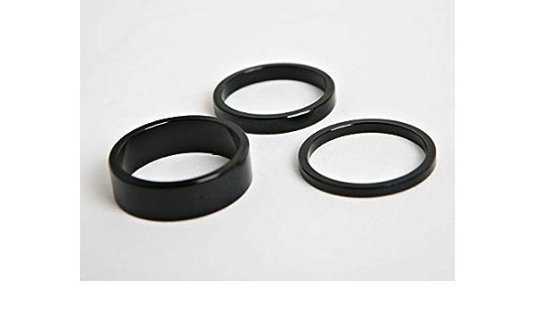 HiTemp 42 Stem Spacer Set 3mm 5mm 10mm Black