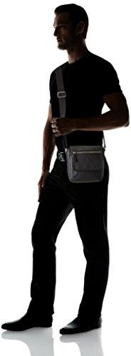 Ecco Ecco Gordon, Sacs portés épaule Homme Noir (Schwarz (90000)