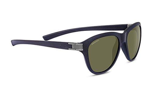 Serengeti Eyewear Sonnenbrille Elba, Sandedack Glitter/Satin Gun/Polarized, 8331