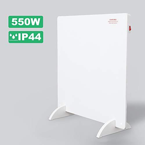 Hengda 550w Infrarot Heizung Infrarotheizung Heizpaneel Infrarotheizung Infrarot Heizung mit Stecker für Steckdose