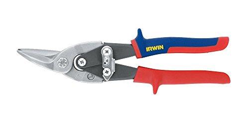 Irwin 101 Durchlauf-Blechschere für linke und gerade Schnitte, Hebelübersetzt, 10504309N