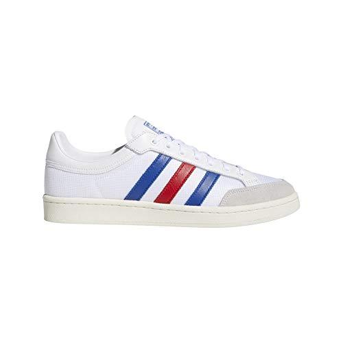 adidas Originals - Americana Low - homme - EF2508- Blanc/bleu/rouge, 41 1/3