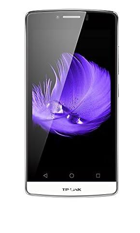 TP-Link Neffos C5L 4G LTE Smartphone (11,43 cm (4,5 Zoll) Display, 8 GB Speicher, 1 GB RAM, Dual SIM Quad-Core, Android 5.1) Perlweiß