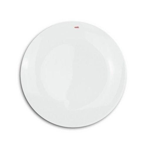 Keith Brymer Jones KBJ-0042 Word Side Plate, White Porcelain Side Plate