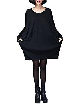 ELLAZHU Damen Basic Style Einfar