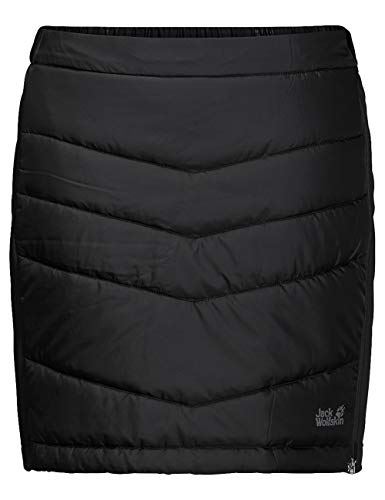 Jack Wolfskin Damen Winterrock Atmosphere Skirt W schwarz - L