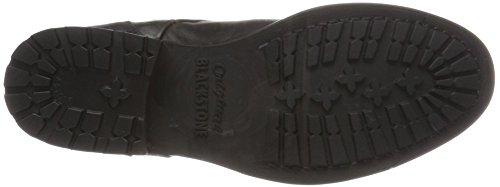 Blackstone Damen Ol43 Desert Boots Schwarz (Black)