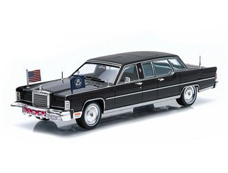 Green Light Collectibles Lincoln Continental (Gerald R. Ford - 1972) Voiture Miniature