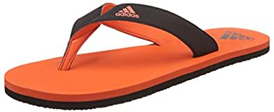 Adidas Men's Eezay Max Out Men Fluora and Cblack Flip-Flops and House Slippers - 7 UK/India (40.67 EU)