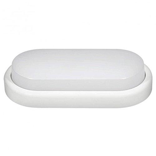 Couson Aplique Plafón LED Ovalado Exterior 14 W Luz