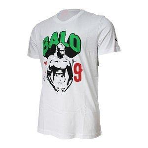 Puma blank balotelli t-shirt pour homme XL Blanc - Blanc