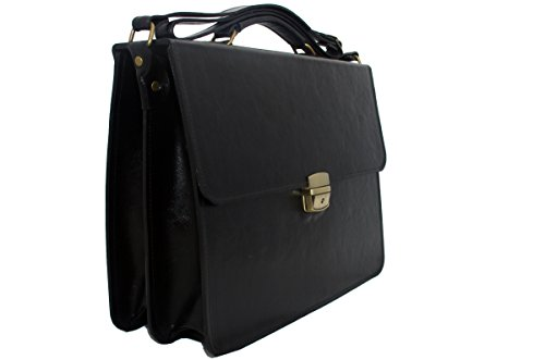 koson-leather-classic-style-executive-business-satchel-bag-work-briefcase